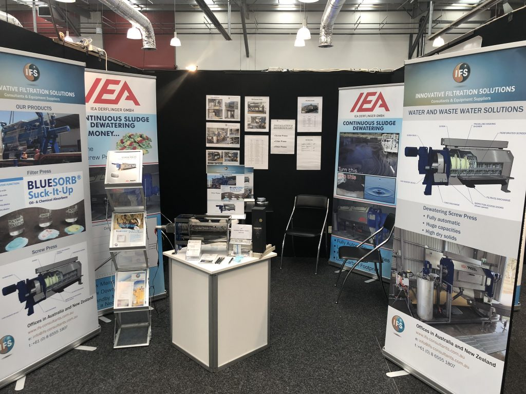 Last week the IFS team exhibited at the 2018 Water New Zealand Conference & Expo in Hamilton